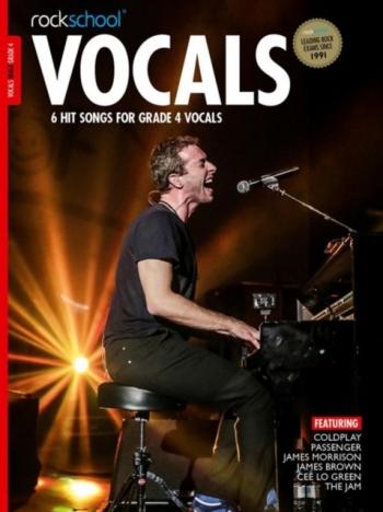 Rockschool: Vocals Grade 4 - Male (Book/Download) 2014-2017 Syllabus