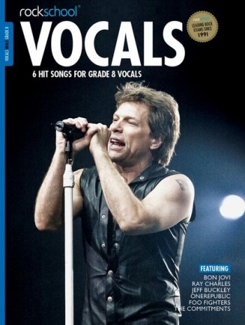 Rockschool: Vocals Grade 8 - Male (Book/Download) 2014-2017 Syllabus