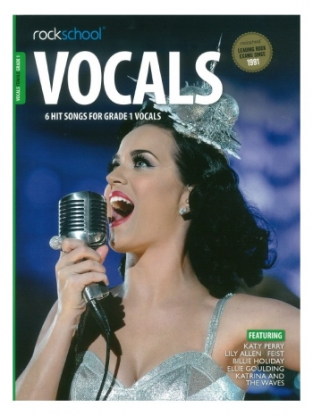 Rockschool: Vocals Grade 1 - Female (Book/Download) 2014-2017 Syllabus