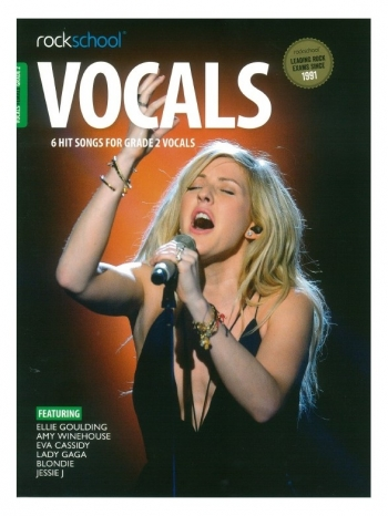 Rockschool: Vocals Grade 2 - Female (Book/Download) 2014-2017 Syllabus