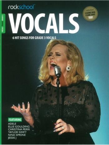Rockschool: Vocals Grade 3 - Female (Book/Download) 2014-2017 Syllabus