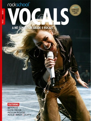 Rockschool: Vocals Grade 4 - Female (Book/Download) 2014-2017 Syllabus