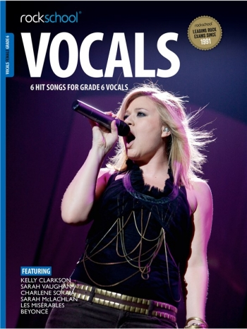 Rockschool: Vocals Grade 6 - Female (Book/Download) 2014-2017 Syllabus