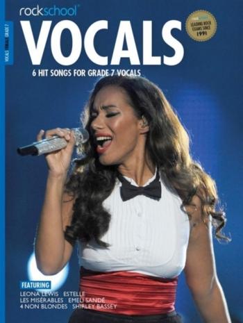Rockschool: Vocals Grade 7 - Female (Book/Download) 2014-2017 Syllabus
