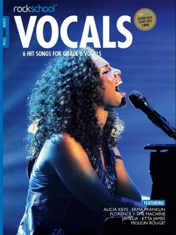 Rockschool: Vocals Grade 8 - Female (Book/Download) 2014-2017 Syllabus
