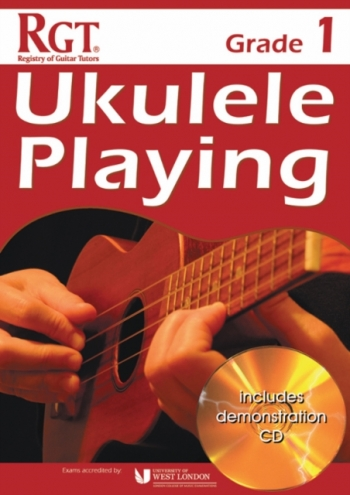 Registry Of Guitar Tutors: Ukulele Playing - Grade 1 (Book/CD)