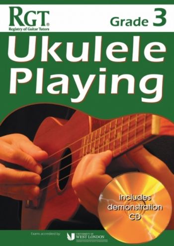 Registry Of Guitar Tutors: Ukulele Playing -  Grade 3 (Book/CD)