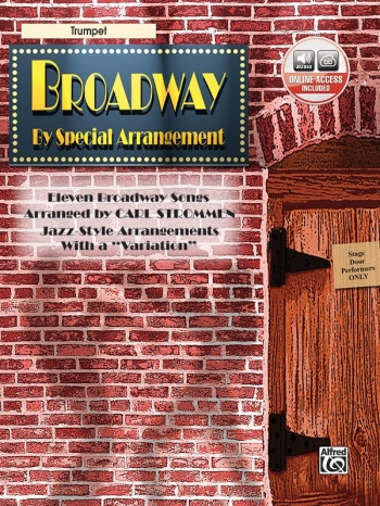 Broadway By Special Arrangement: Trumpet Book & CD