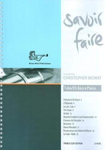 Savoir Faire: Tuba/Eb Bass & Piano Treble Clef