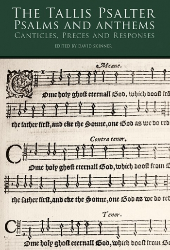 The Tallis Psalter: Psalms And Anthems  SATB
