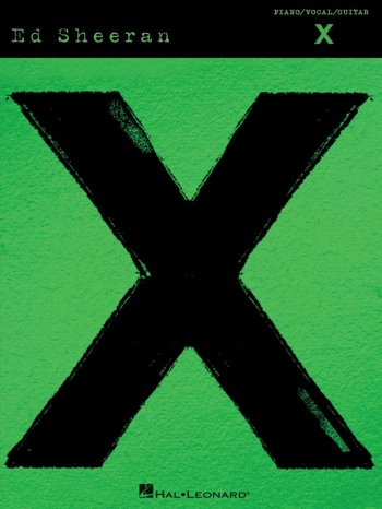 Ed Sheeran X Piano Vocal And Guitar