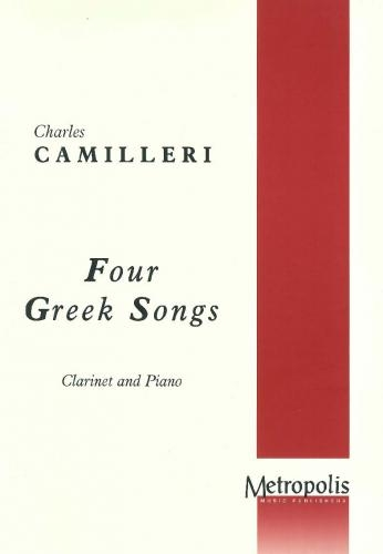 Four Greek Songs For Clarinet & Piano