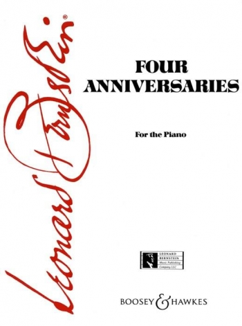 Four Anniversaries Piano (Boosey & Hawkes)