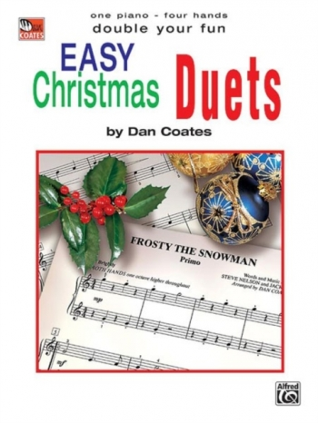 Double Your Fun:  Christmas Duets: Piano Duet: One Piano Four Hands (Dan Coates)