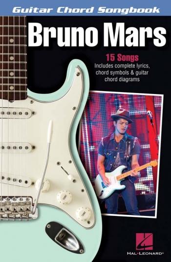 Bruno Mars: Guitar Chord Songbook Lyrics & Chords