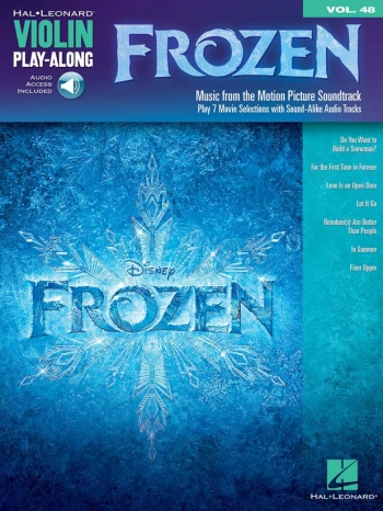 Violin Play-Along Volume 48: Frozen Book & CD