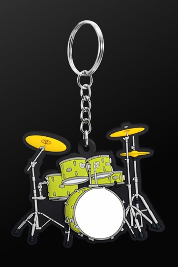 Keyring DrumSet Green
