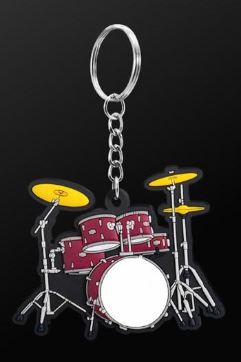 Keyring Drum Set Red