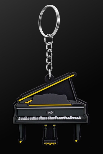 Keyring Grand PIano Black