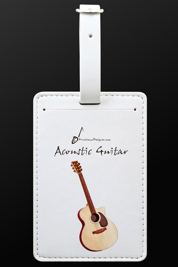 Luggage Tag Guitar