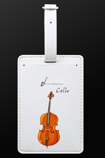 Luggage Tag Cello