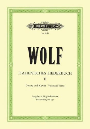 Italian Lyrics: 46 Songs: Vol 2: Voice & Piano (Peters)