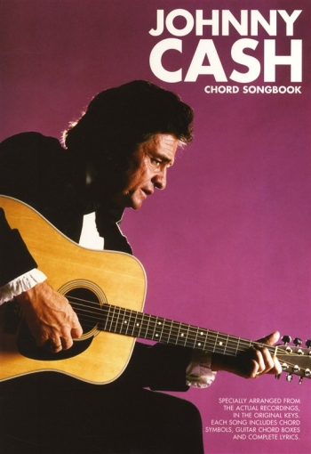 Johnny Cash: Chord Songbook: Lyrics & Chords