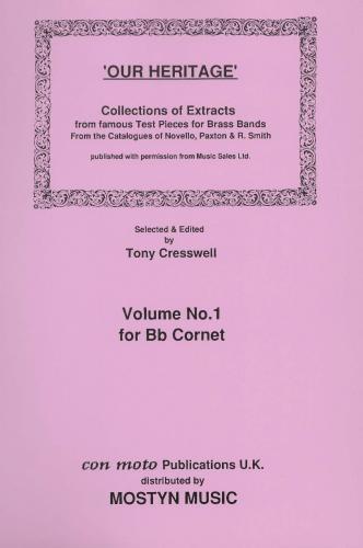 Our Heritage Vol.1 Bb Cornet Solo