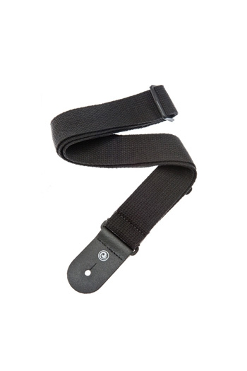 Strap: 50mm Cotton Strap Black: Planet Waves