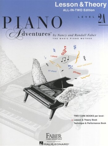 Piano Adventures: Lesson & Theory Book: All-In-Two: Level 2A  (Nancy & Randall Faber)