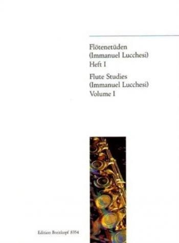 Flotenetuden: Flute Studies: Vol 1: Flute Solo (Breitkopf)