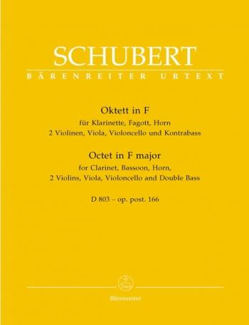 Octet F Major: Set Of Parts (Barenreiter)