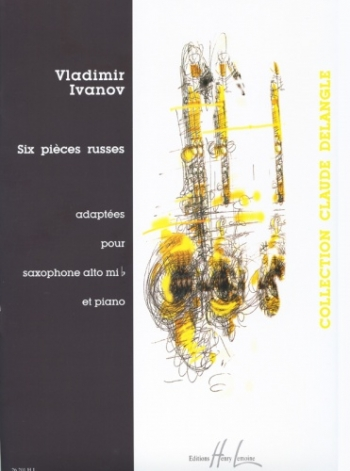 Six Pieces Russes Vol.1: Alto Saxophone & Piano (Lemoine)