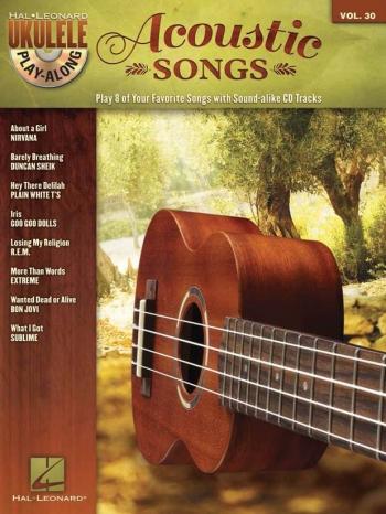 Ukulele Play-Along Volume 30: Acoustic Songs (Book/CD)