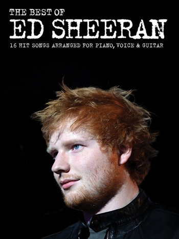 Ed Sheeran The Best Of: Piano Vocal Guitar