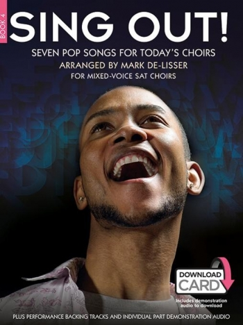 Sing Out! Seven Pop Songs For Today's Choirs - Book 4 (Book/Download Card)
