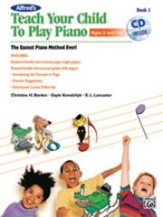 Teach Your Child To Play Piano: Book 1: Book & Cd