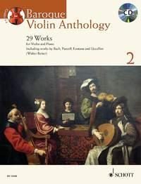 Baroque Violin Anthology: Vol 2: 29 Works Book & Cd