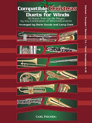 Compatible Christmas Duets For Winds: Bb Instruments