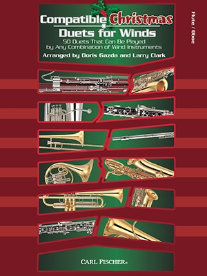 Compatible Christmas Duets For Winds: Flute Or Oboe