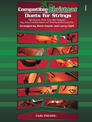 Compatible Christmas Duets For Strings: Viola