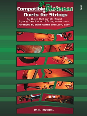 Compatible Christmas Duets For Strings: Cello