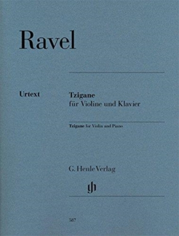 Tzigane For Violin & Piano (Henle)