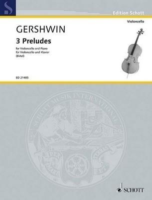 3 Preludes: Cello & Piano (Schott)