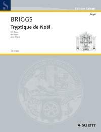 Triptyque De Noel For Organ (Schott)