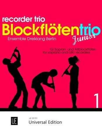 Recorder Trio Junior: Part 2 Score & Parts: Descant And Treble