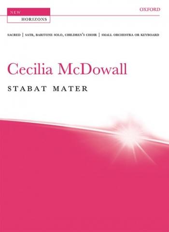 Stabat Mater: Vocal  Score SATB (Oxford)