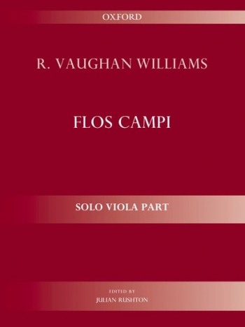 Flos Campi: Solo Viola Part Edited Rushton (Oxford)