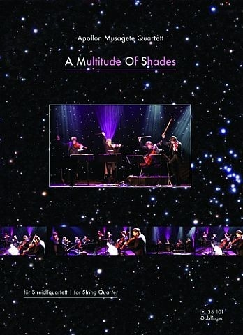 A Multitude Of Shades (to Tori Amos): String Quartet: Score & Parts