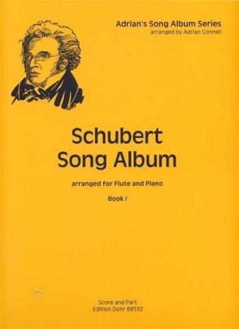 Schubert Song Album Book 1 For Flute & Piano